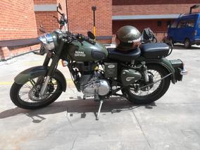 Royal Enfield Classic Green 500cc Excelente Estado Negociabl
