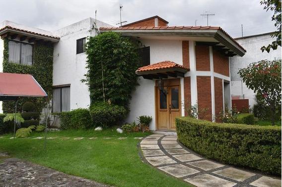 Vo Casa Sola, Acogedora, Extenso Jardín, Tepepan
