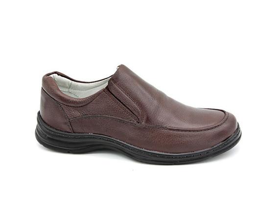 Sapato Social Casual Antistress Conforto Sapatênis Couro
