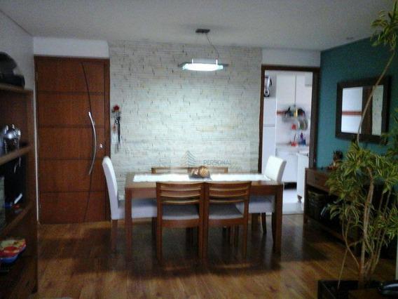Apartamento Residencial À Venda, Parque Terra Nova, São Bernardo Do Campo. - Ap0725