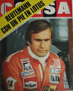 Revista Corsa - 1978 - Nro. 640 - Reutemann