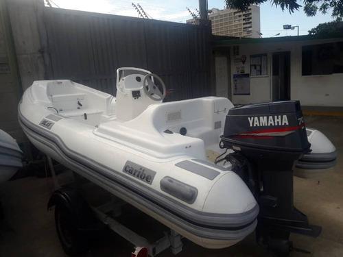 Dingui Caribe Nautica Dl-15 Motor Yamaha 70 Hp Mejor Precio