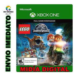 Jogo Lego Jurassic World O Mundo Dos Dinossauros Xbox One