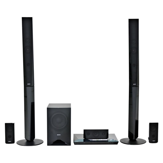Home Theater Sony Bdv-e4100 Blu-ray Wi-fi Blue 1000w Rms 5.1