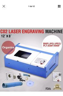 Máquina De Grabado Y Corte Láser Cnc Co2 40w