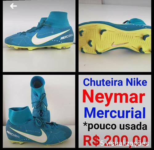 3f2f2c3e39561 Chuteira Nike Tamanho 36 Neymar - Esportes e Fitness no Mercado ...