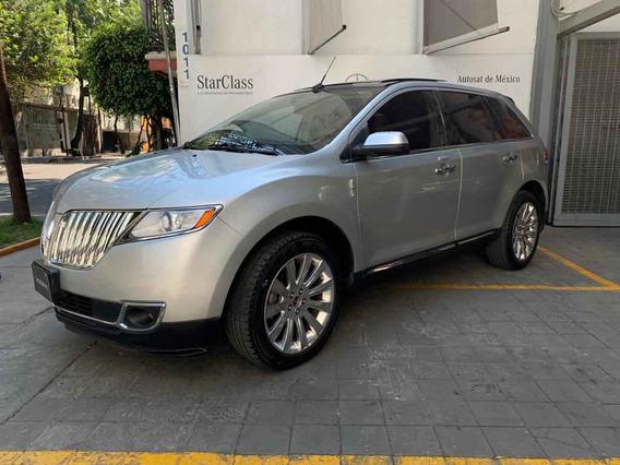 Lincoln Mkx 2013 5p V6 Aut 4x4 Awd Premier Piel Q/c Nav