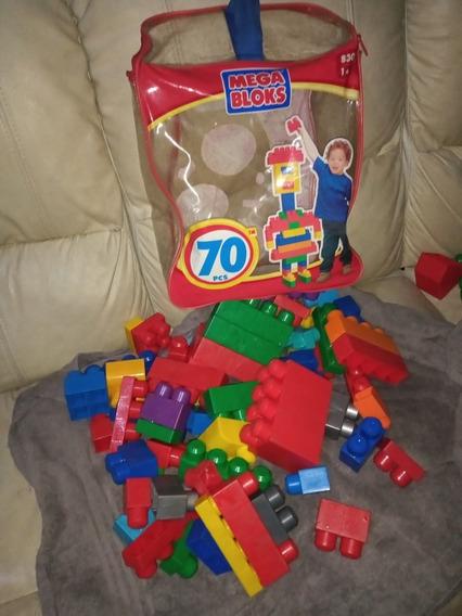 Lego Mega Blocks 70piezas $10