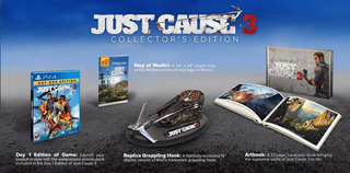 Edicion Coleccionista Just Cause 3 Ps4 Collector Edition