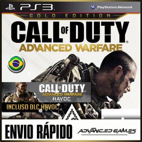 Cod Advanced Warfare + Dlc - Jogos Midia Digital Ps3 Psn