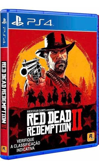 Game Red Dead Redemption 2 Ps4 Mídia Física Envio Imediato