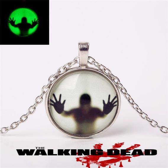Colar Cordão The Walking Dead Brilha No Escuro