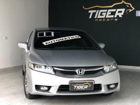 Honda Civic 1.8 Lxl Couro Flex Automatico - Banco De Couro