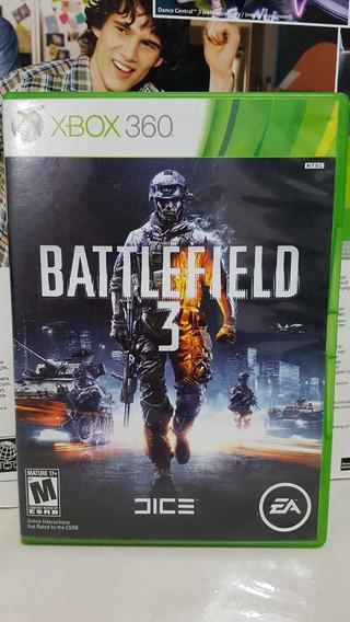 Battlefield 3 Xbox 360 Midia Fisica Original Xbox P/entrega