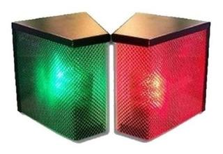 Semaforo De Garage Led Smd 5050 Con Luz Y Sonido Kit X2