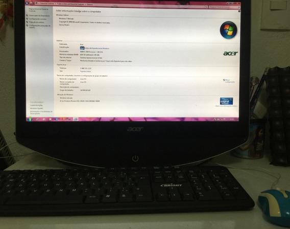 Computador Acer Az1100 (vende Ou Troca Por Notebook)