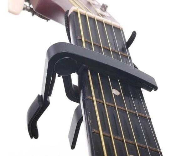 Capotraste Skell Aluminio P/ Violão Guitarra Ukulele - Promo