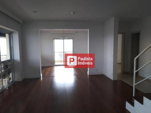 Cobertura Com 4 Dormitórios, 397 M²  - Vila Cruzeiro - São Paulo/sp - Co0837