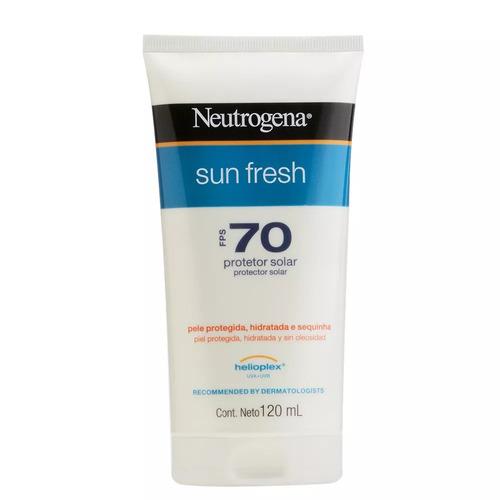 Protetor Solar Neutrogena Sun Fresh Fps70 120ml