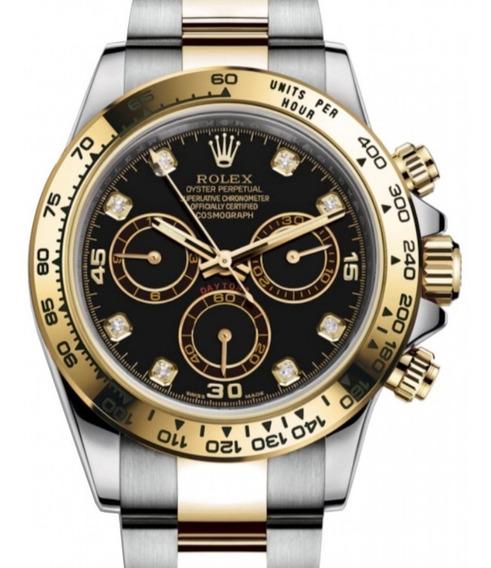 Relógio Rolex Daytona 116503 2020 Ouro Com Diamantes Deligia