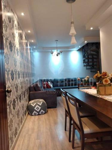 Imagem 1 de 15 de Sobrado Residencial - 3 Dormitórios - 2 Vagas - Churrasqueira - Otima Localização - Cf69887