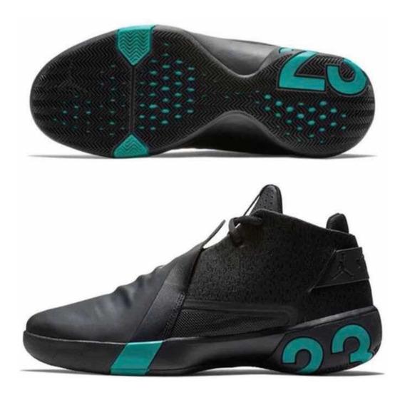 Tenis Jordan Ultra Fly Negro 3 #28 Al 31 Cm + Caja Original