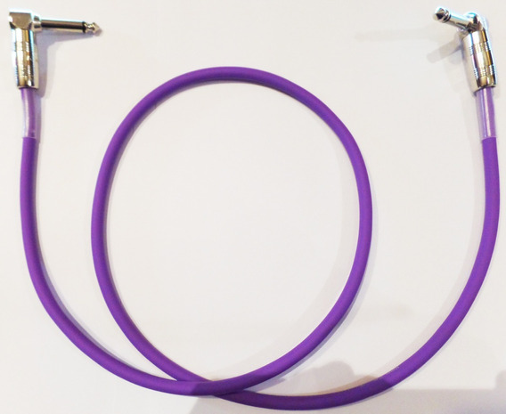 Cable Interpedal Ficha Metálica Angulo Kirlin 90cm Ip6-243