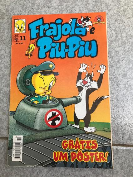 Hq Looney Tunes Frajola E Piu Piu Número 11 Com Pôster F350