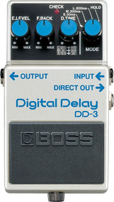 Pedal De Efeito Boss Dd-3 Digital Delay P/ Guitarra Garantia