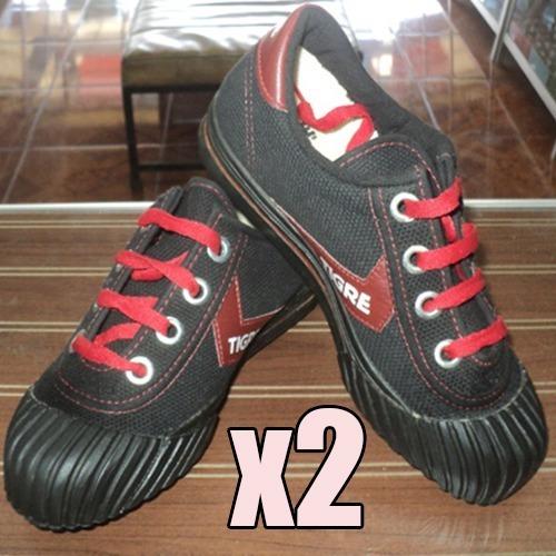 2 X Zapatillas Power Y Tigre (solo Números Pequeños) 30 Y 34