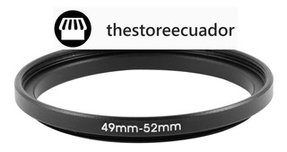 Anillo Step Up 49mm-52mm
