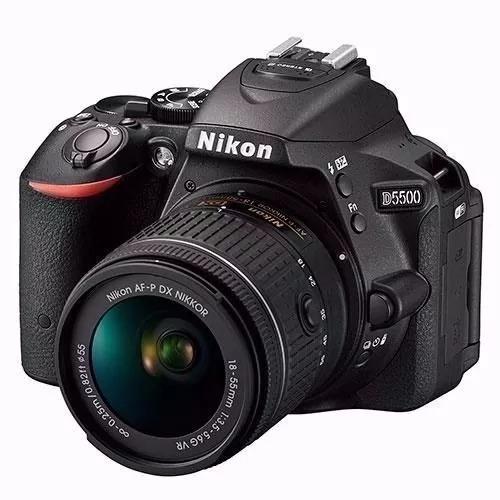 Câmera Nikon D5500 18-55mm + Lente 18 200mm