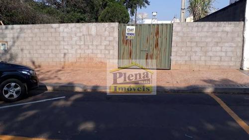 Terreno À Venda, 372 M² - Vila Santana - Sumaré/sp - Te0797