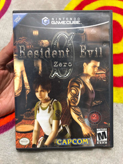 Videojuego Resident Evil 0 Zero Nintendo Gamecube