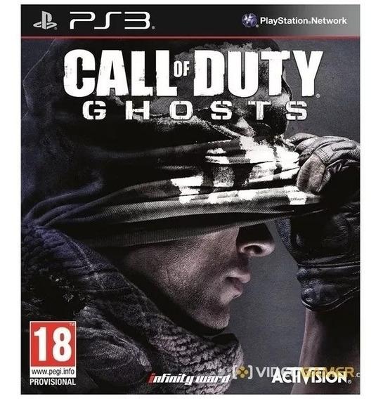 Jogo Call Of Duty Ghosts Ps3 Lacrado
