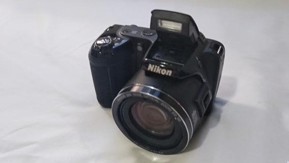 Câmera Nikon L810 Problema Na Placa + Bolsa E Acessórios