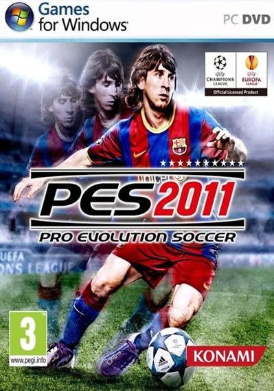 Pro Evolution Soccer 2011 Pc Fraco - Pes 2011 Envio Digital