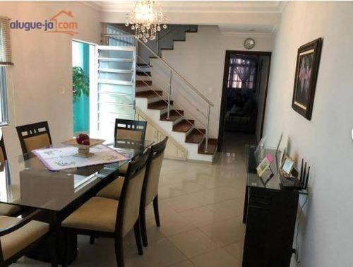 Casa Com 3 Dormitórios À Venda, 160 M² Por R$ 521.000,00 - Loteamento Residencial Vista Linda - São José Dos Campos/sp - Ca3019