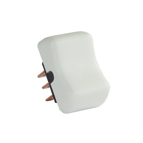 Productos Jr 13005 Dpdt Blanco Encendido / Apagado / Encendi