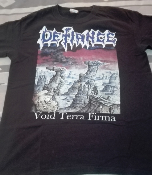Defiance - Void Terra Firma Playera Talla Mediana
