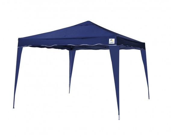 Tenda Gazebo Dobrável 3x3m Fps 60 Azul Bel Fix