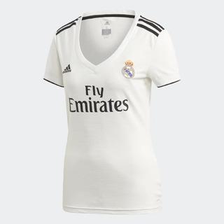 Camisa Feminina Real Madrid adidas Branca Original