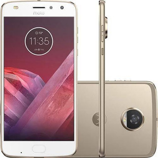 Celular Moto Z2 Com 02 Snaps