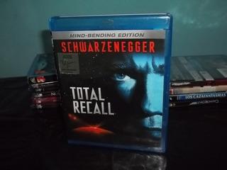 Blu Ray Total Recall Schwarzenegger