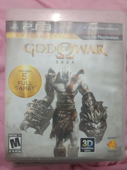 God Of War Saga - Ps3 Midia Física