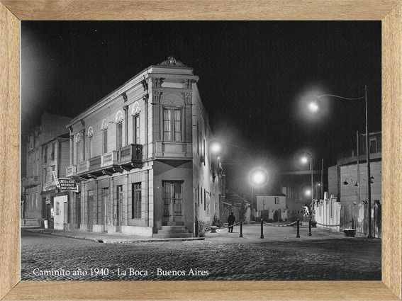 Foto Antigua Caminito , Cuadros Carteles Posters L757