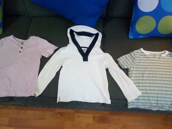 Camisetas Y Chompa De Niño 4-5 Años Marca Carters Miami
