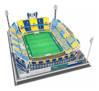 Estadio Réplica Exacta Maqueta 3d / Fútbol Argentino Armado