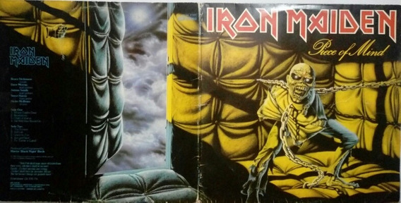 Capa Do Lp Piece Of Mind - Iron Maiden