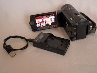 Camara De Video Canon Vixia Hf10 Hd 16gb Memoria 12x
